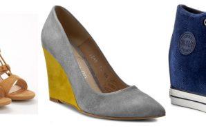 Buty na koturnie – do czego nosić sandały, czółenka, sneakersy…