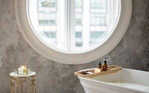 Mikrocement w łazience – poznaj wady i zalety